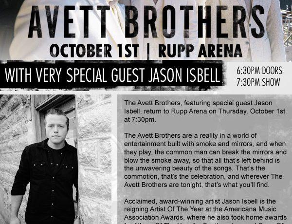 Avett Brothers Email Design